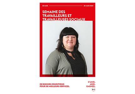 La FSSS-CSN souligne la semaine des travailleurs et travailleuses sociaux