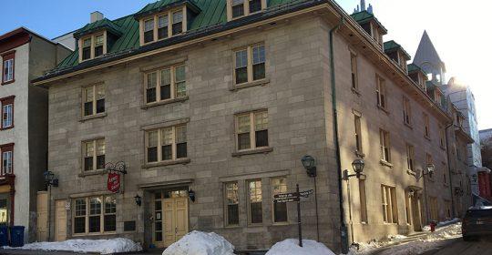 Fermeture de l'hébergement de l'Armée du Salut à Québec