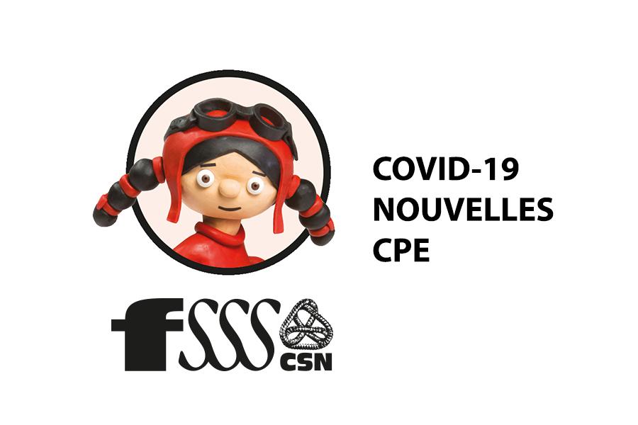 COVID-19 : Foire aux questions des CPE du 18 mars 2020