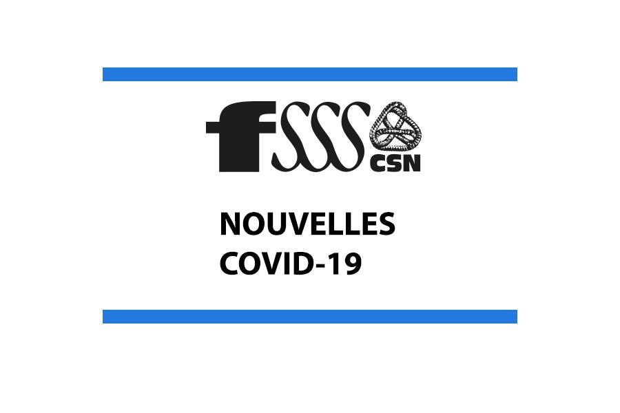 Informations sur la COVID-19