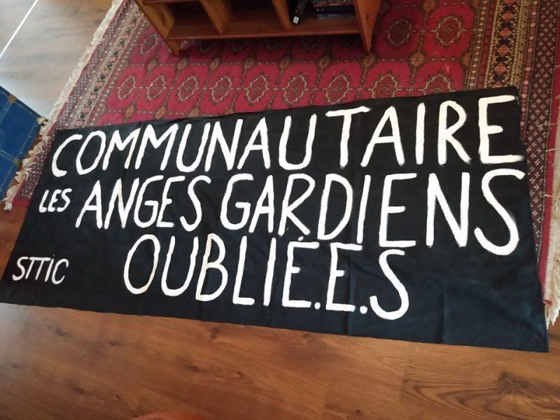 Laissés de côté et fatigués : les travailleuses et travailleurs  du communautaire manifestent à Montréal