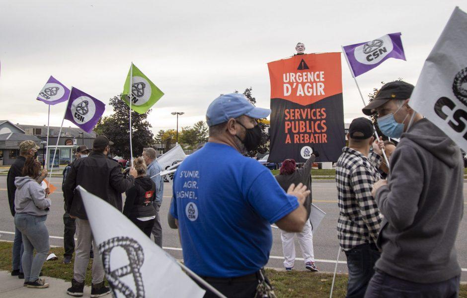 En pleine pénurie de personnel, appauvrir les travailleuses et les travailleurs serait catastrophique, prévient la CSN