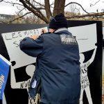 Les agents d'intervention demandent reconnaissance et respect