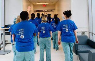 Les professionnelles en soins infirmiers de la CSQ, de la CSN et de la FTQ refusent les conditions proposées par le gouvernement
